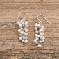 White Rice Pearl Earrings